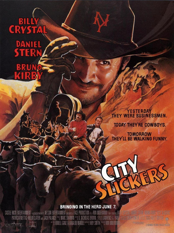 City Slickers City Slickers Billy Crystal Comedy Films