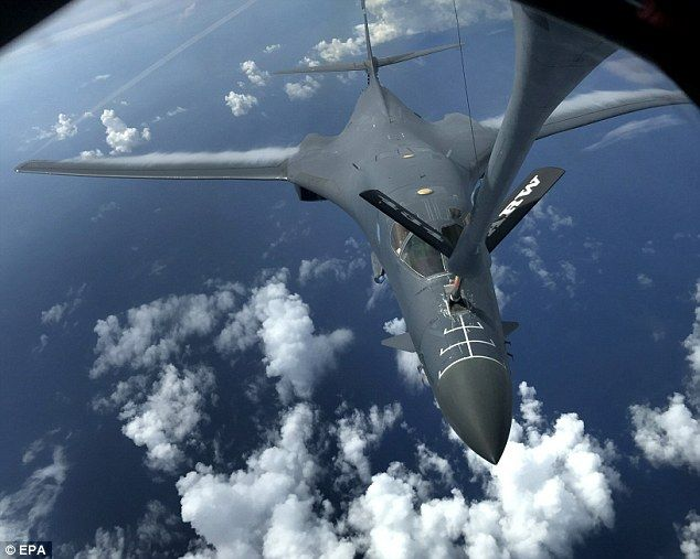The World Is Holding Its Breath As Trump Takes Kim To The Brink Of War With Images North Korea Us Bombers Fighter Jets