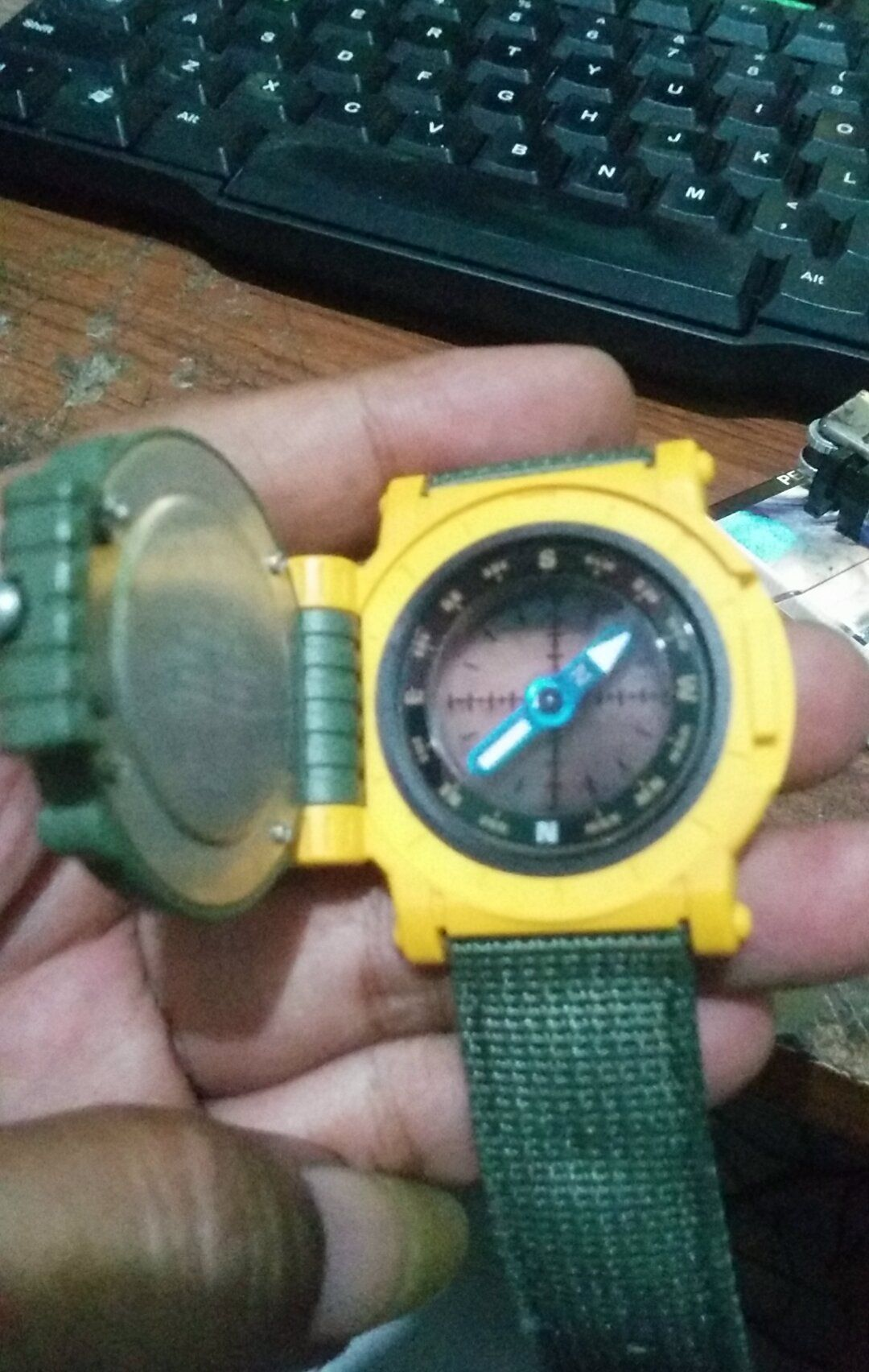 a79f5a0f05d Casio MW 43  Casio  Jam Tangan  Watch  Quartz  Jadul  Rare  Langka  Unik   Kompas  Compass
