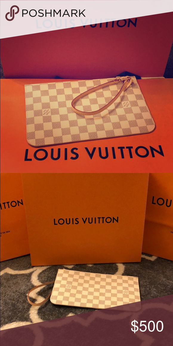 9ad978764e5 New Louis Vuitton Clutch from LV Neverfull MM New Authentic Louis Vuitton  Clutch. This clutch