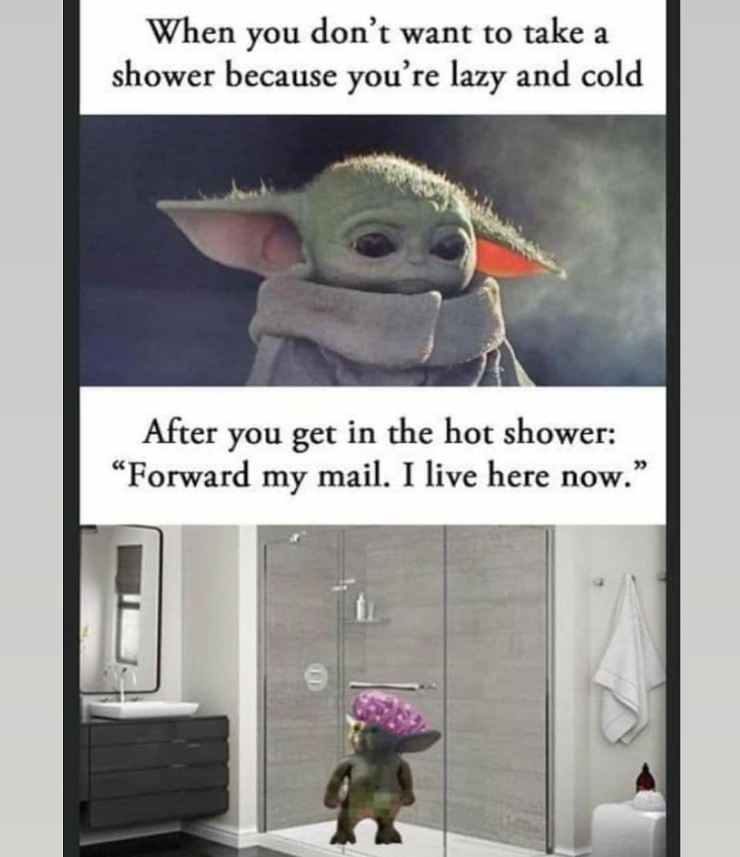 The Real Baby Yoda On Instagram Follow Memeiety Yoda Funny Yoda Meme Jokes For Kids