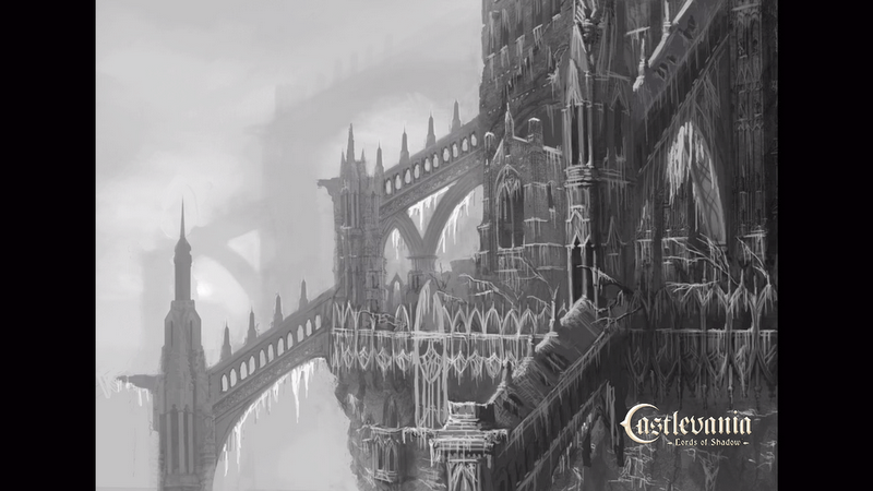 Balcony detail from castle exterior concept art from for Balcony concept