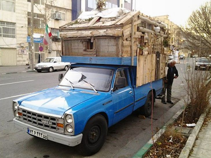 Lives In Diy Truck Camper Tehran Iran