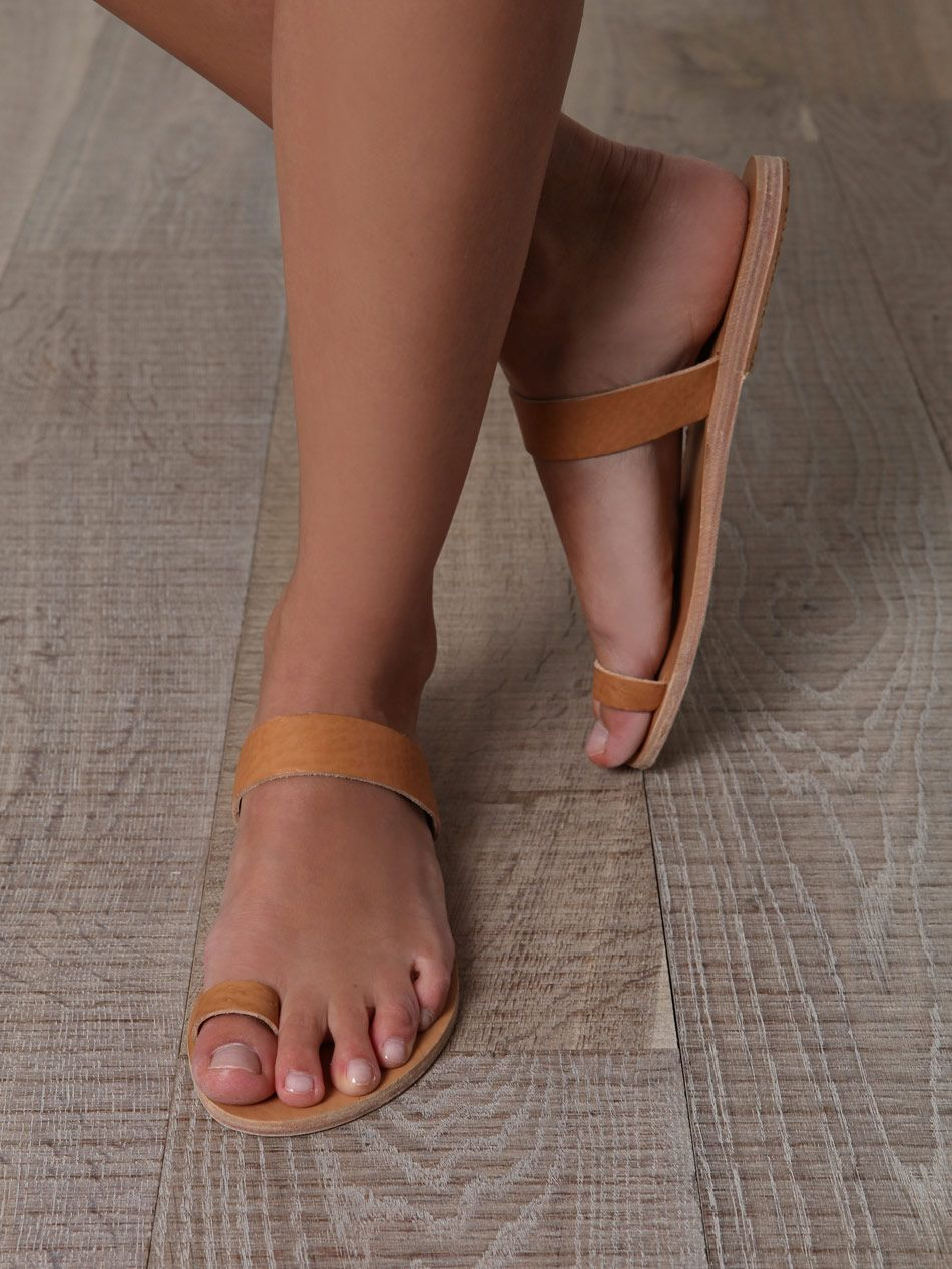ba2abceb32a97 Classic Greek leather toe ring sandals- these can be got for about ...