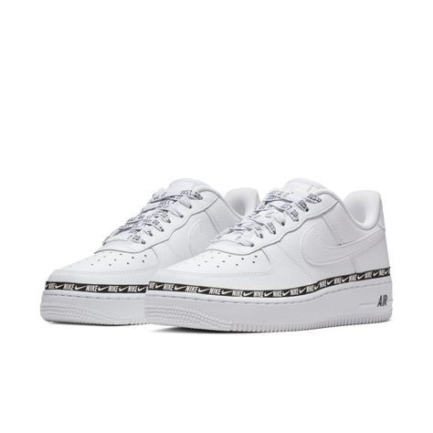 best service 349c8 f49e3 Nike Air Force 1  07 SE Premium Overbranded Women s Shoe - White