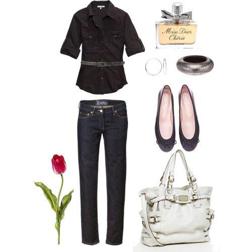black w/jeans...again