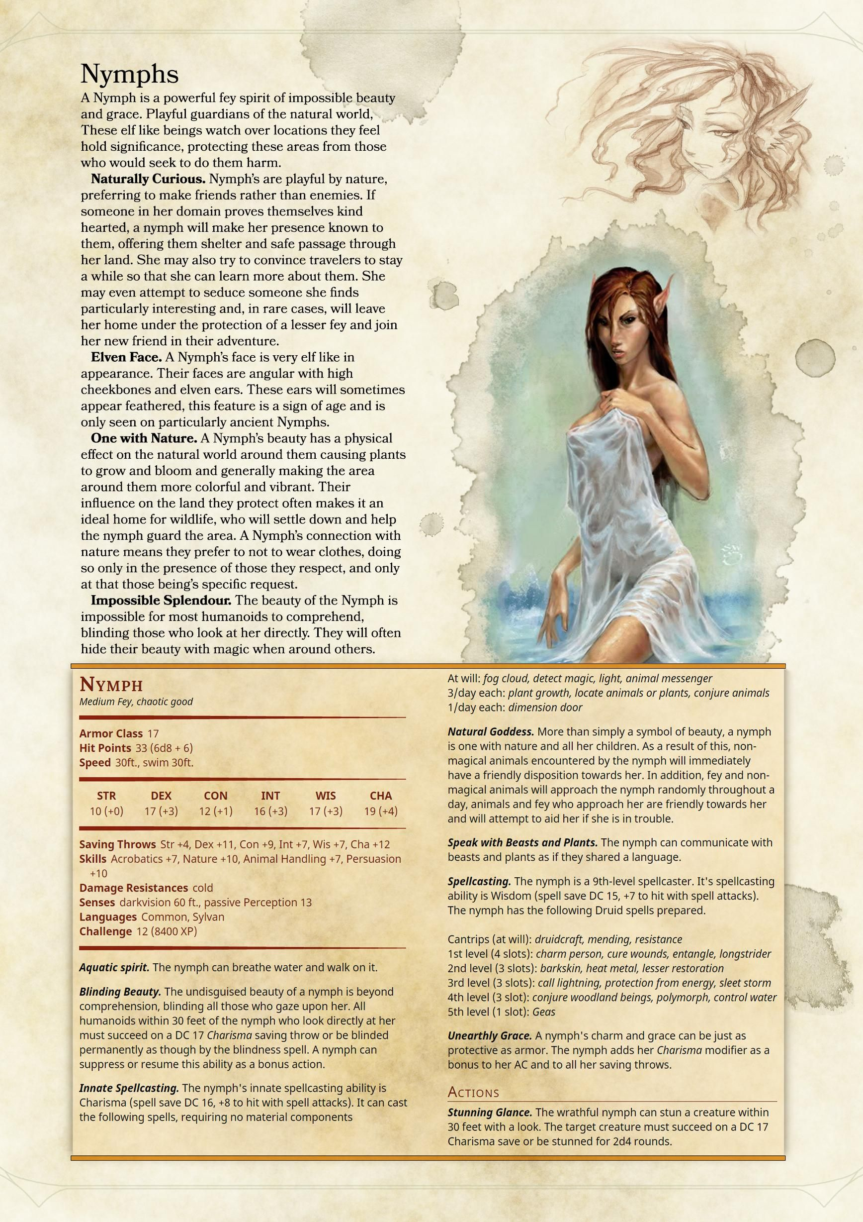 Monster Manual: Expanded Bestiary | D&D in 2019 | Dnd