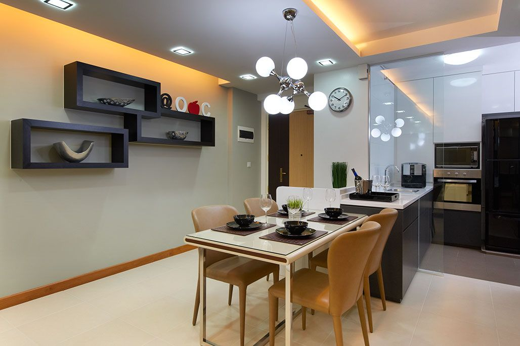 Kitchen Interior Design And Renovation Singapore Unimax Creative