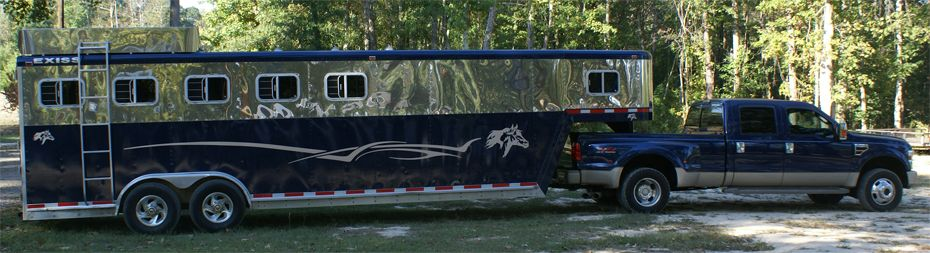 Great Decal For A Very Large Horse Trailer Love This Great -  horse graphics for trucks