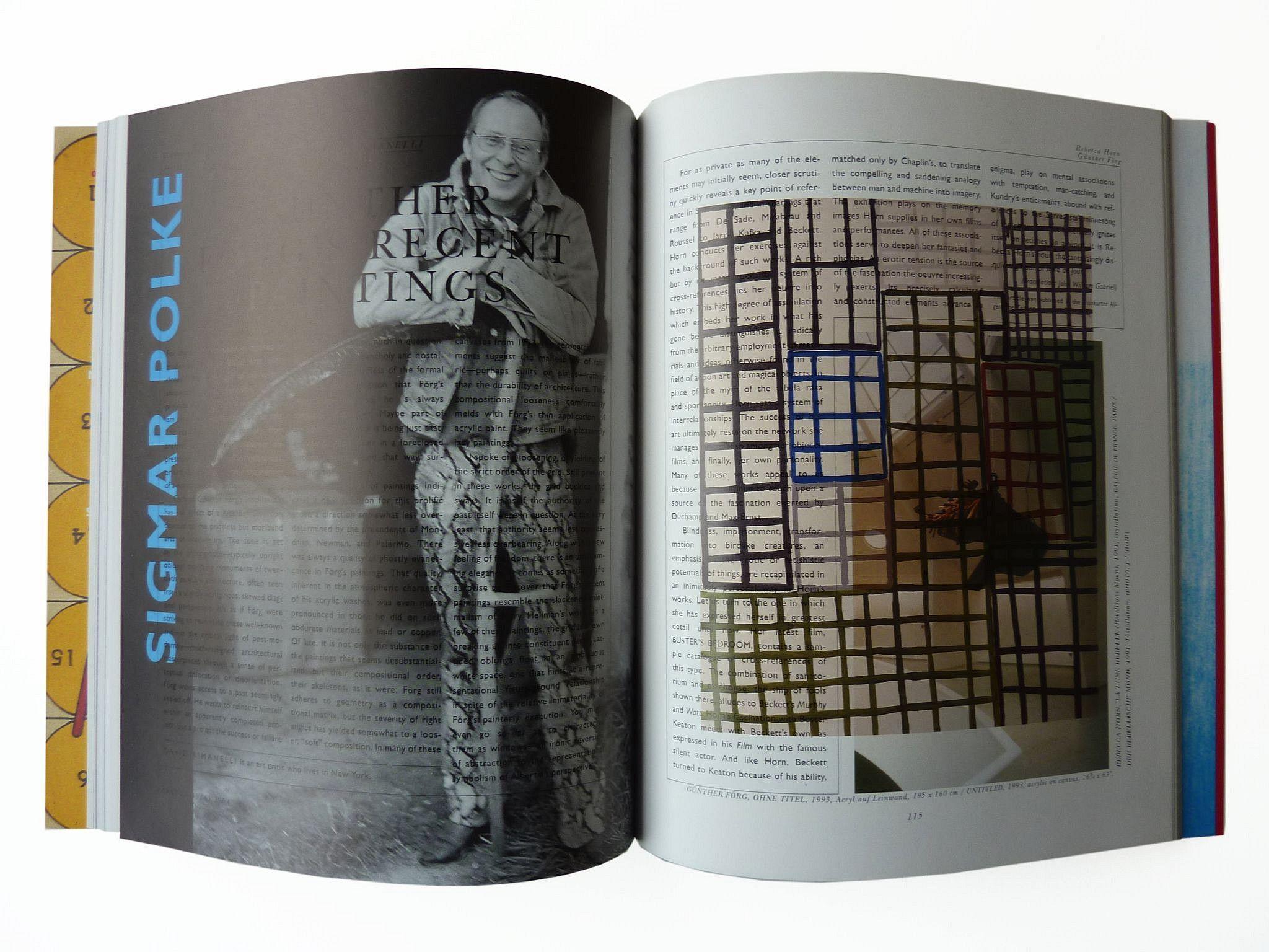 Sigmar Polke, Untitled (Parkett Anniversary I) 1994
