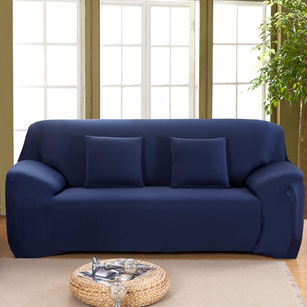 10 Blue Sofa Covers Most Of The Amazing As Well As Attractive