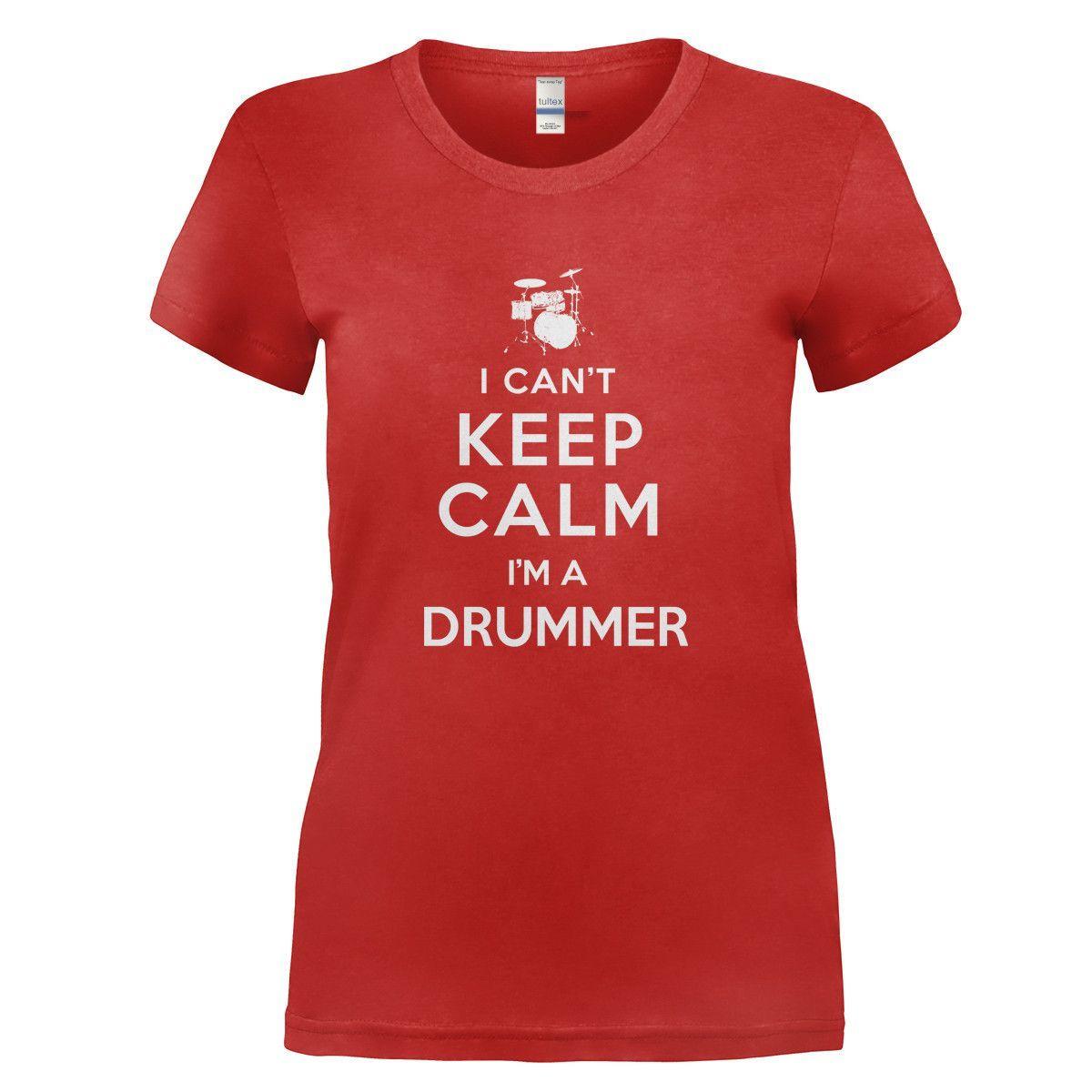 I cant keep calm im a drummer i love apparel make