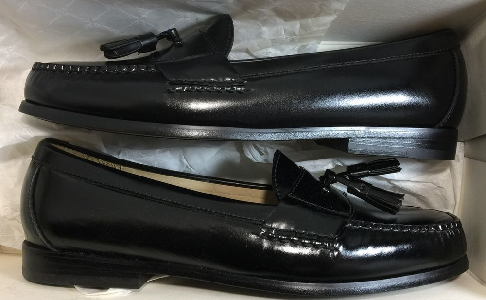 e3f6e597923 Cole Haan Pinch Tassel Black 10.5 D Mens Shoes Loafer with Box Nordstrom   ColeHaan  LoafersSlipOns  Formal