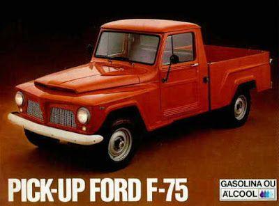 Viajante Do Tempo Real Pick Up Ford F 75 Fotos De Carros