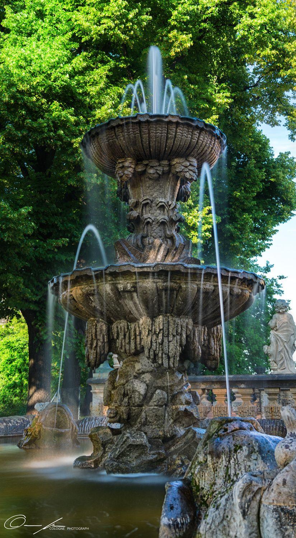 Brunnen Im Dresdner Zwinger Dresdner Zwinger Dresdner Brunnen