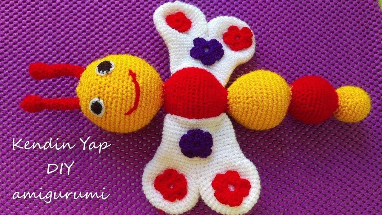 Amigurumi Örgü Oyuncak Koyun Yapımı 1 (Amigurumi Crochet Sheep ... | 720x1280