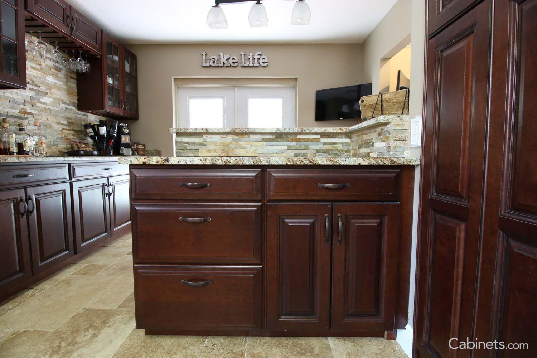 Jupiter Cherry Java Coffee Glaze Kitchen Remodel Kitchen