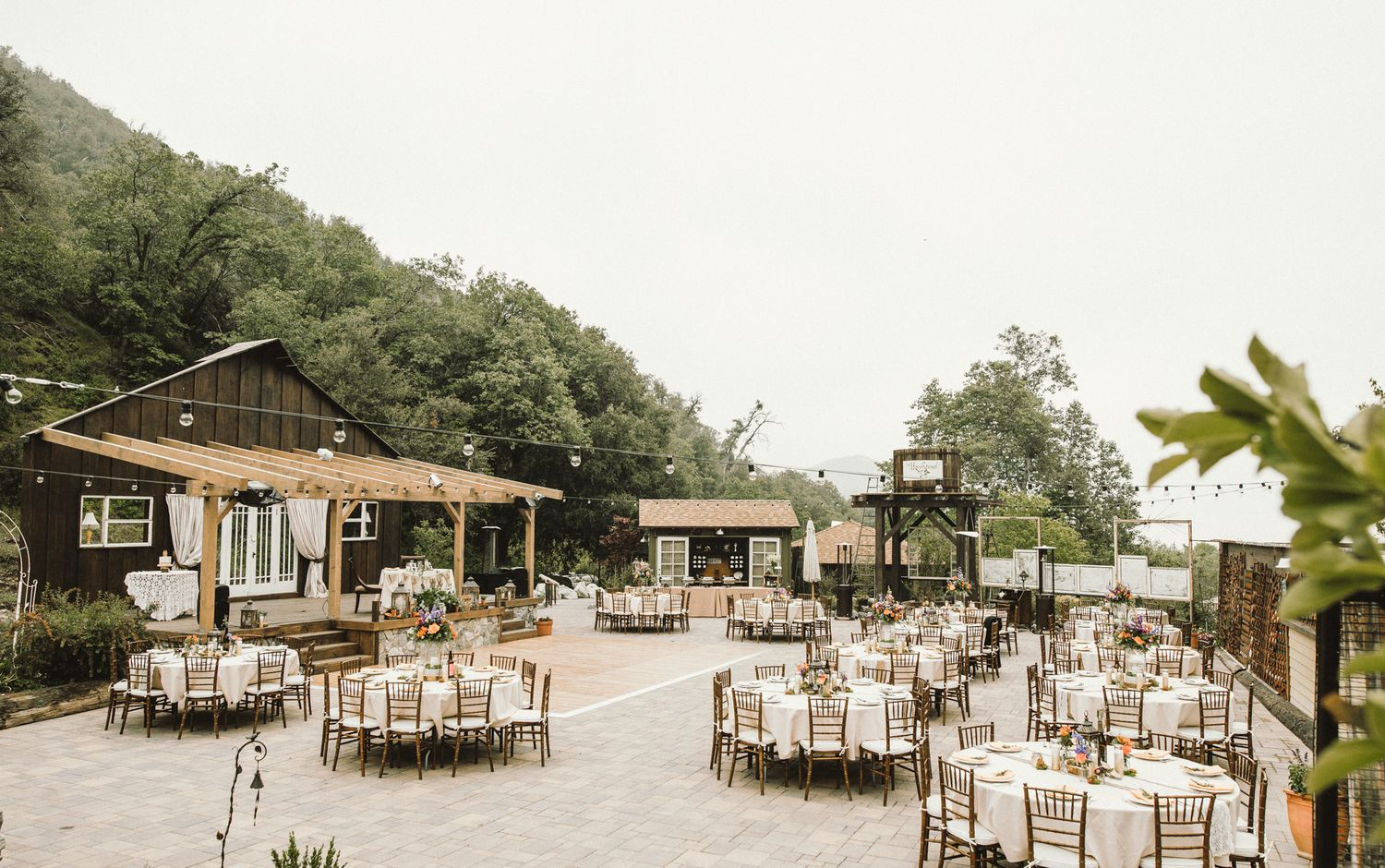 Garden Weddings The Homestead At Wilshire Ranch Oak Glen Rustic Vintage Southern California Venue