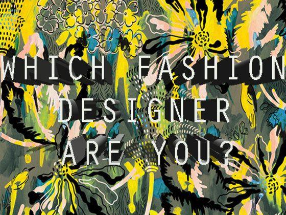 Which Fashion Designer Are You Fashion Design Winter Trends Design