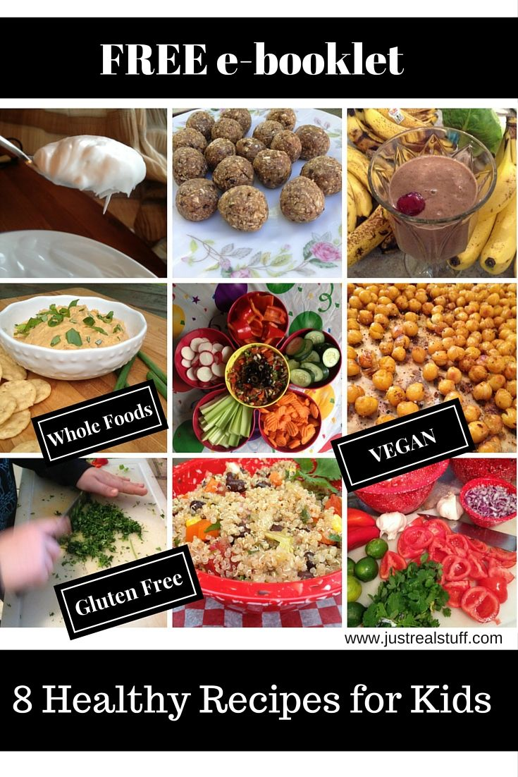 In recognition of Jamie Oliver's Food Revolution Day, I'd like to offer you a free e-booklet I made with 8 yummy recipes that kids can make (and adults will like too!) These are all vegan, plant-based, whole food recipes. I hope you enjoy!  You can get it here:  http://bit.ly/GetTheRecipes