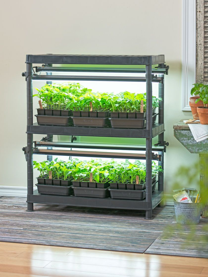 Stack N Grow Light System Free Shipping Gardener S Supply Aquaponics Diy Aquaponics System Grow Lights
