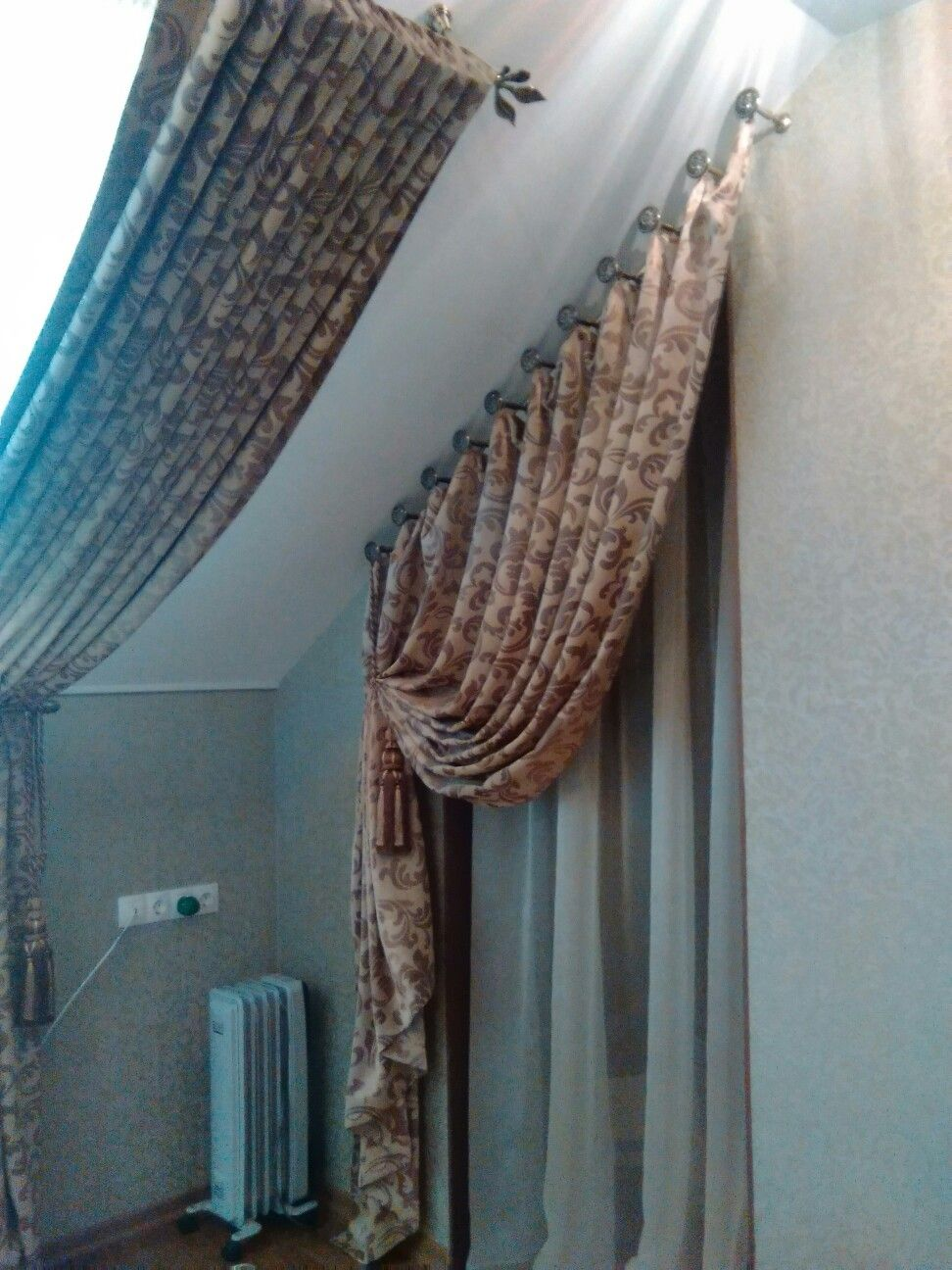 Pin de beatriz segovia gallardo en cortinas cortinas y - Cortinas para tragaluz ...