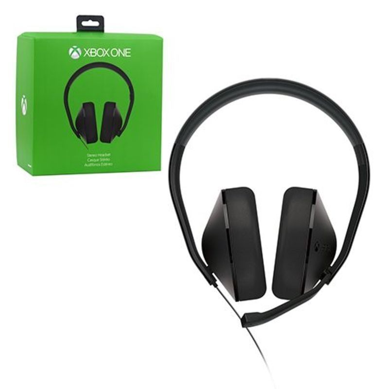 Microsoft Wired Stereo Headset For Microsoft Xbox One | Products ...