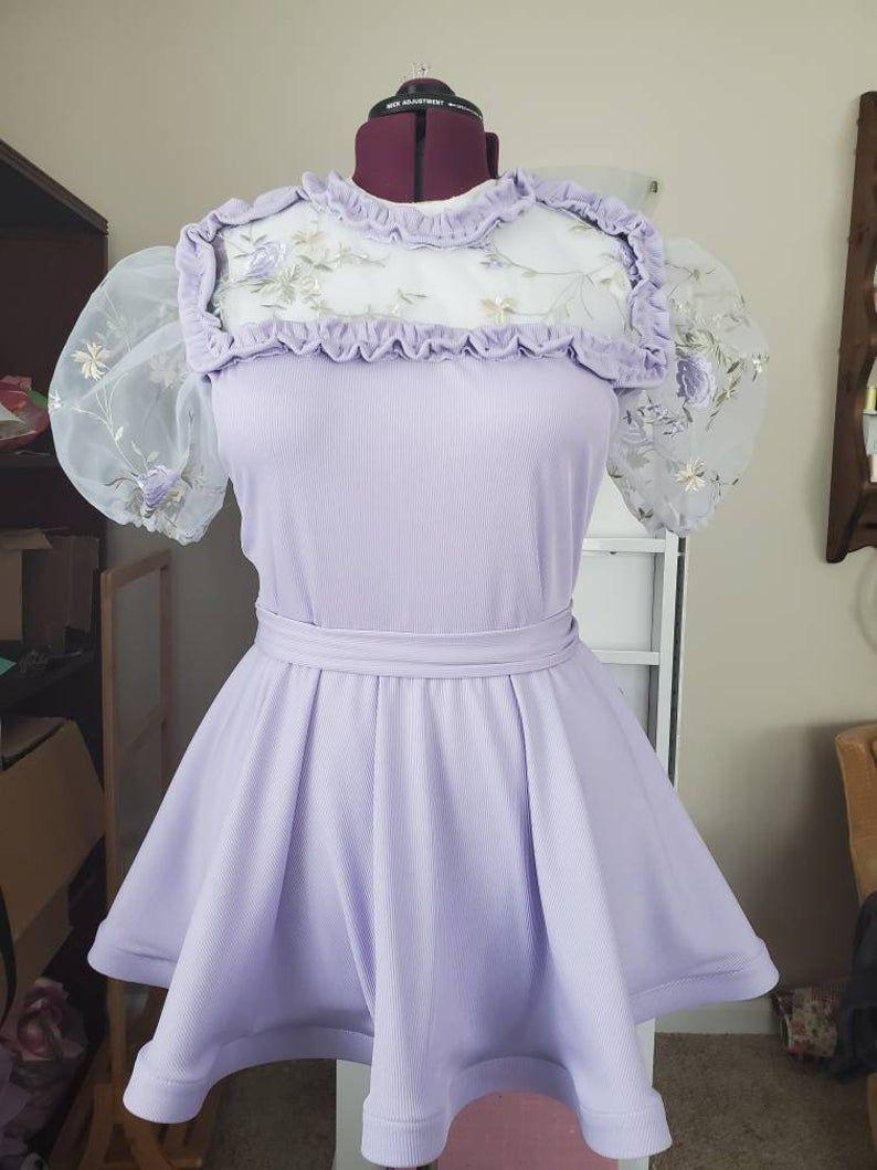 Purple Uniform Dress Dresses Uniform Dress Alternative Fashion