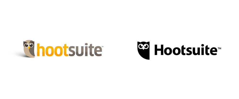 Brand New New Logo For Hootsuite By Vigilantes Owl Logo Logos Logo Inspiration