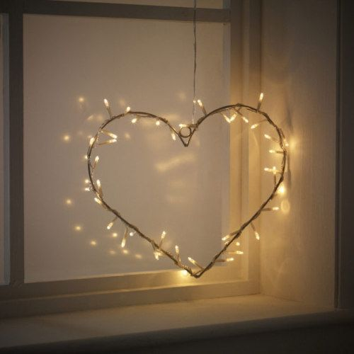 Metal Heart Hanging Wreath With 40 Clear Fairy Lights Indoor Transformer 24v Ebay Fairy Lights Decor Christmas Fairy Lights Solar Fairy Lights