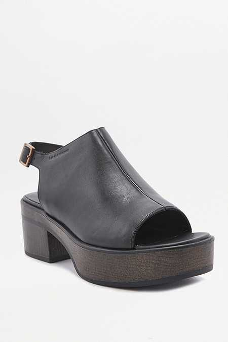 39d4746f675a7 Vagabond Noor Black Leather Platform Sandals | Shoes | Sandals ...