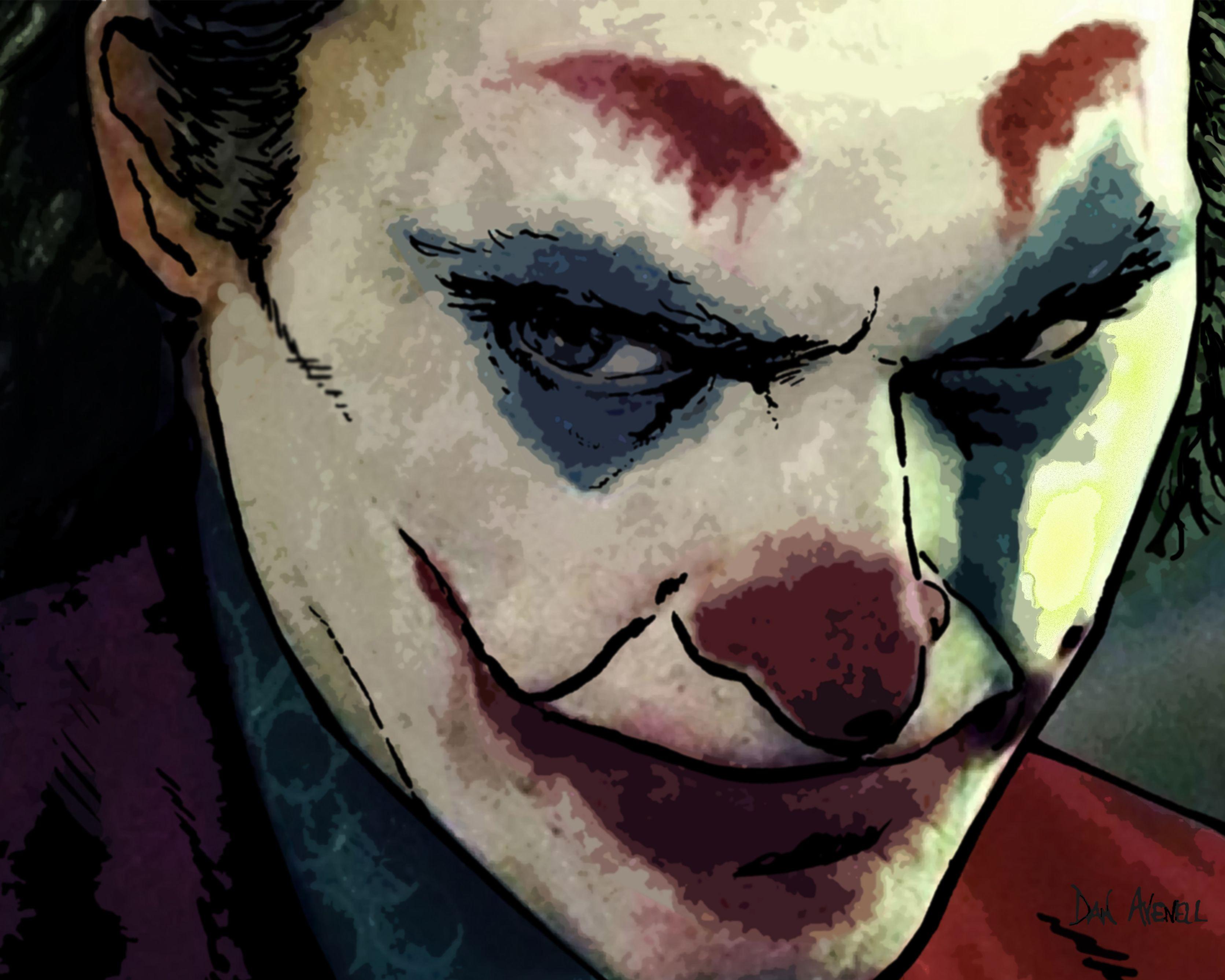 Pin By The Art Of Dan Avenell On Superhero City In 2020 Joker Art Art Marvel Wall Art