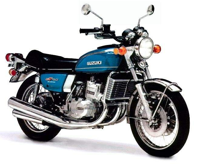 Suzuki Gt 750 Water Buffalo My First Water Cooled Bike With