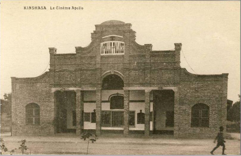 "The Apollo ""Palace"" cinema in Belgian Congo, mid 1920's"