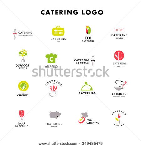 Vector template of catering company logo logo design for Catering companies