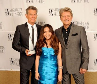 David Foster Charice And Peter Cetera I Was At That Show Memories The Fosters Rock Groups Peter
