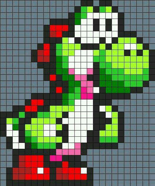 Pin By Sabrina On Minecraft Ideas Perler Bead Mario