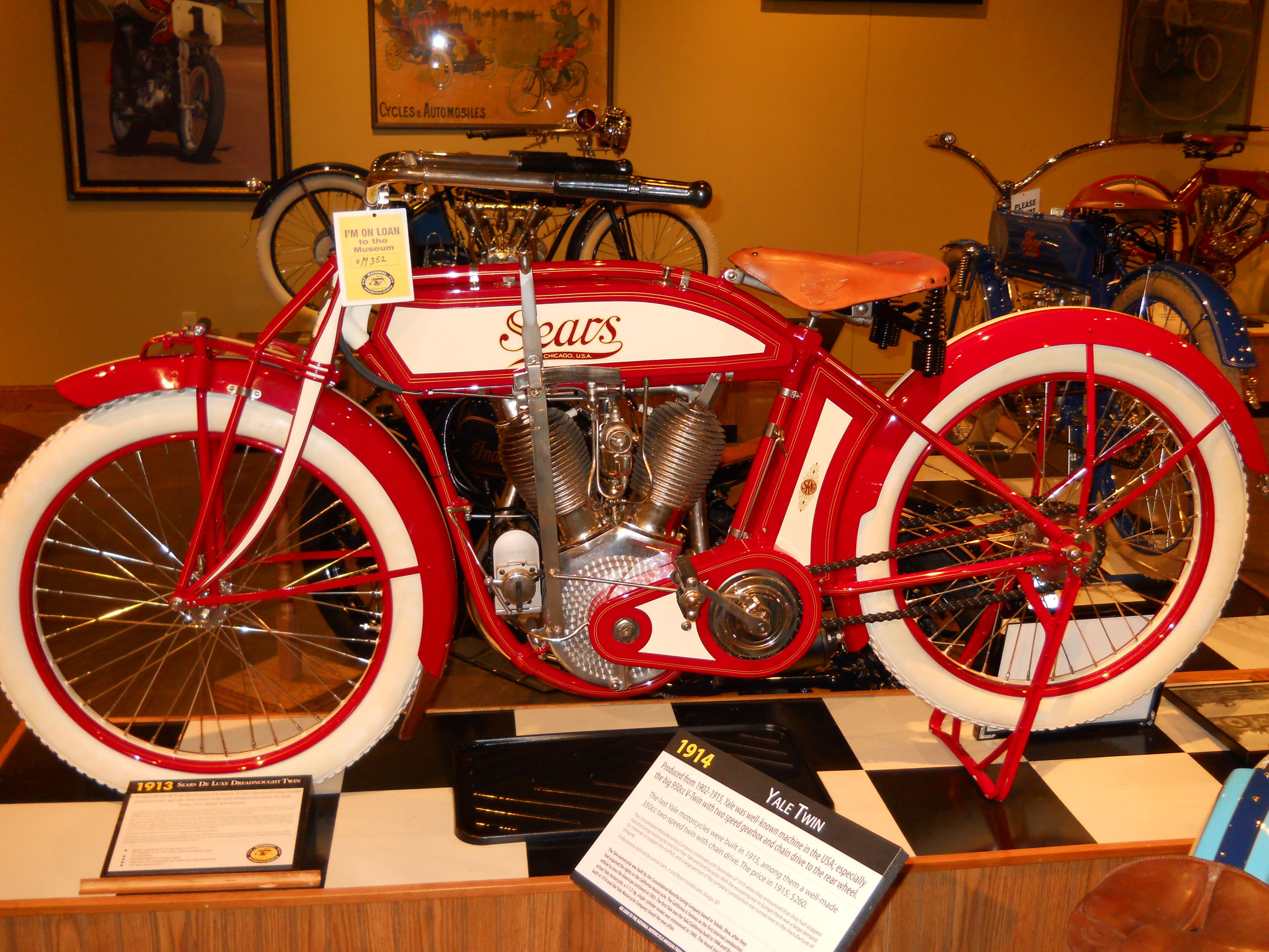 Sears Motorcycle Yeah Sears Made Bikes Avec Images