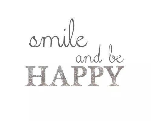 Immagine di smile, happy, and quote