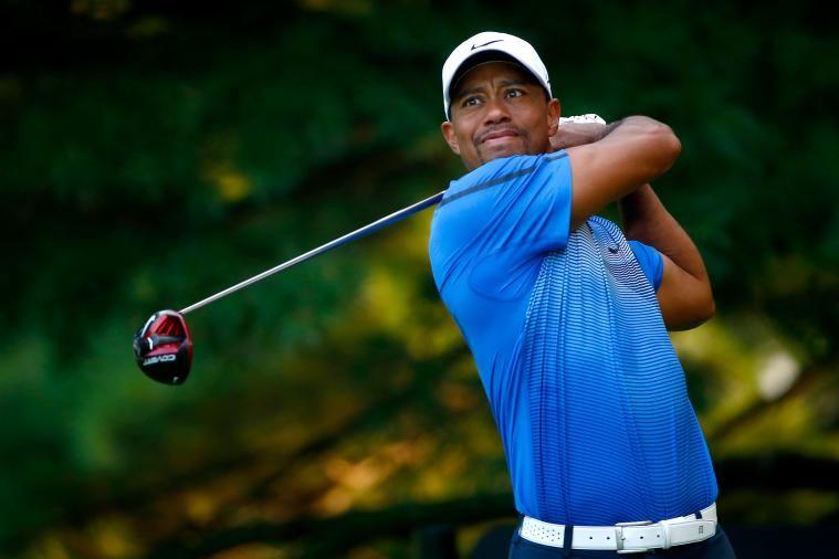 Tiger Woods During 2nd Round Play At (2014) WGC-Bridgestone Invitational. -