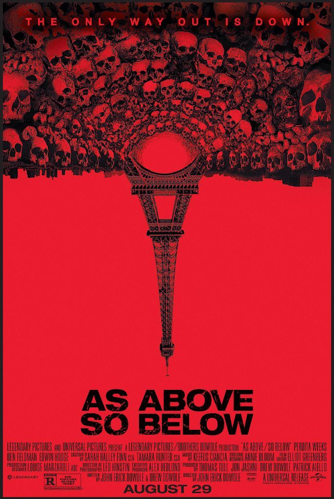 As Above So Below 2014 Directed By John Erick Dowdle Horror