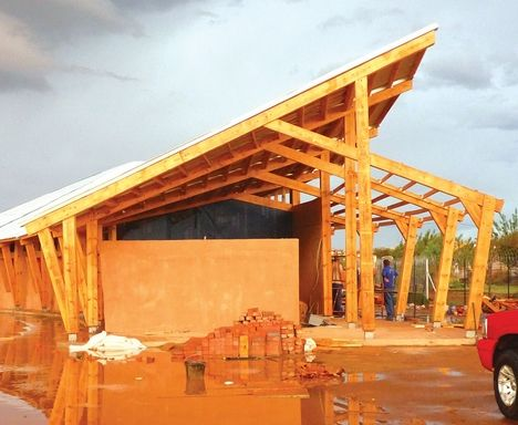 Clerestory truss google search mt tom estates for Clerestory roof design