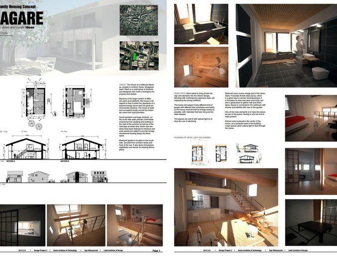 image result for commercial interior design presentation board