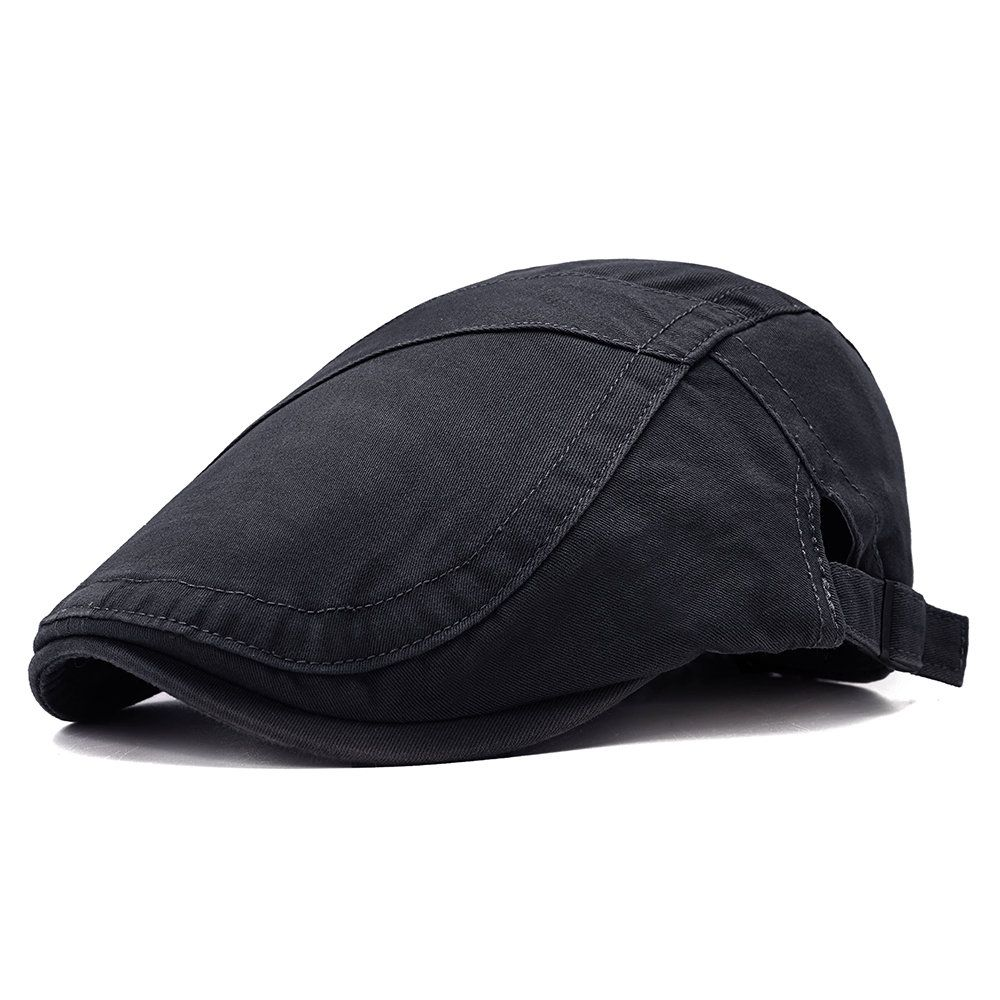 Vintage Men/'s Beret Hat Mink fur peaked cap Beret Newsboy Cap Warm Winter