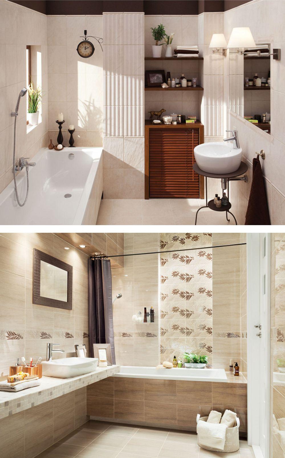 Plytki Lazienkowe W Najmodniejszych Wzorach I Dekorach Paradyz Domino Tubadzin Korzilius Alcove Bathtub Alcove Bathroom