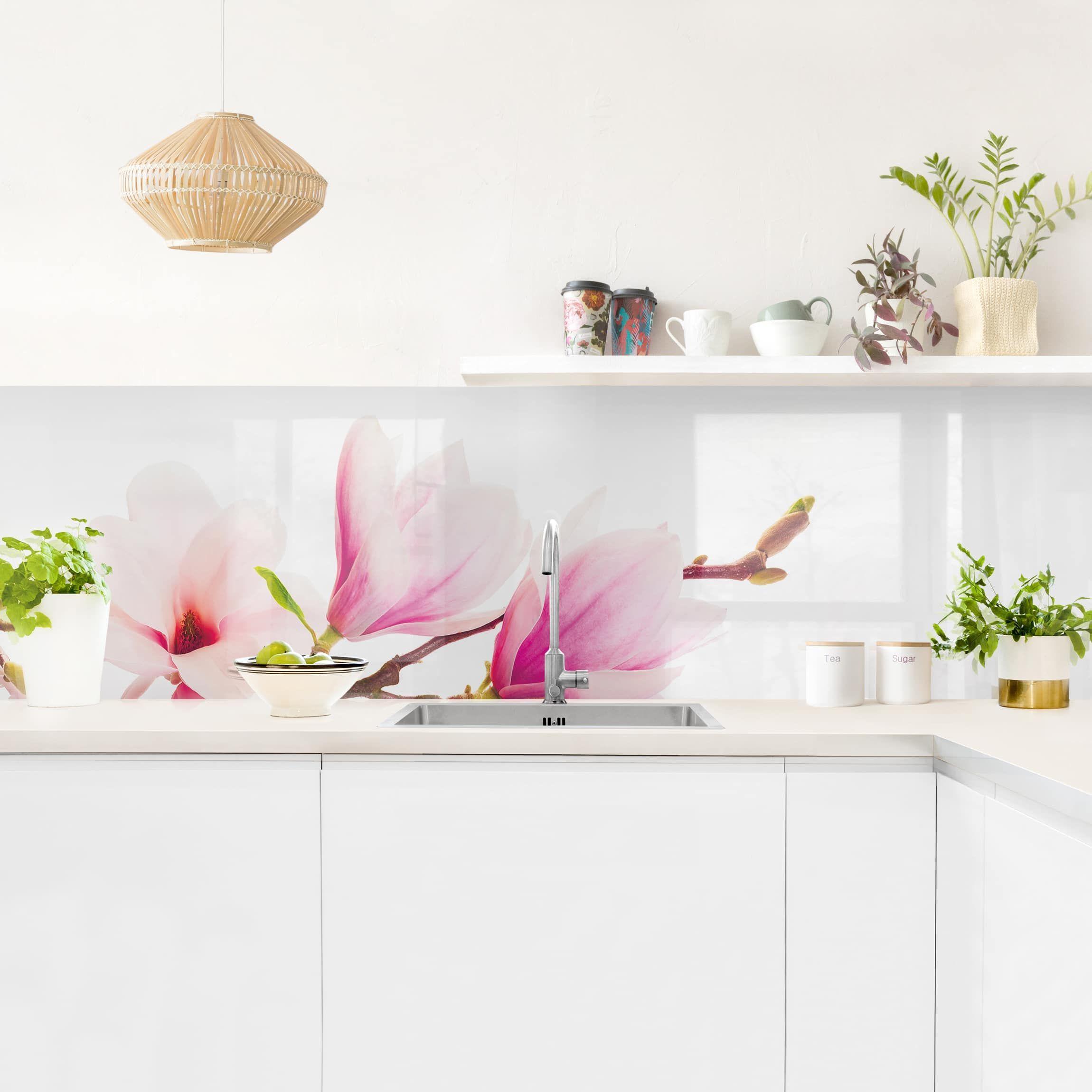 Auf der Suche nach Blumen Küchenrückwand Ideen? Du hast keine