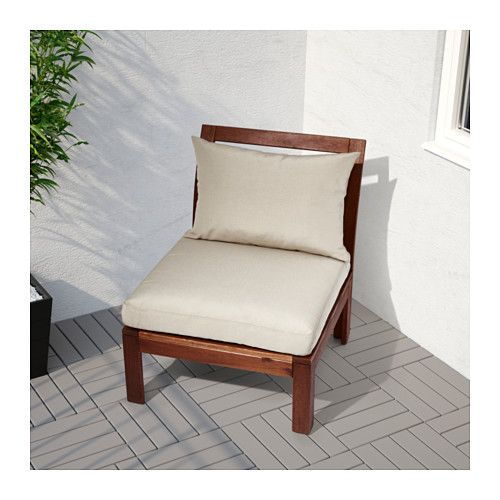 Outdoor Brown Stained Ikea, Patio Furniture Ikea Canada