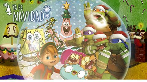 Nickelodeon celebra la navidad con 6 días de episodios especiales   Voxpopulix.com #Televisión