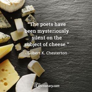 gk chesterton essay on cheese