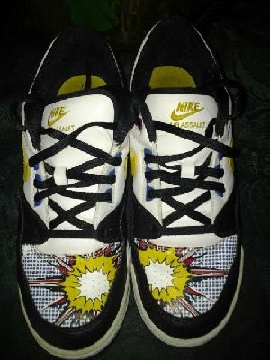 At Nike air assault v cute for boys size 6y free ship for 19.99